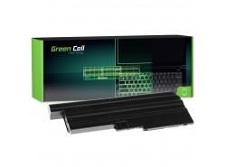 Green Cell Akku 42T4504 42T4513 92P1138 92P1139 pentru Lenovo ThinkPad R60 R60e R61 R61e R61i R500 SL500 T60 T61 T500 W500