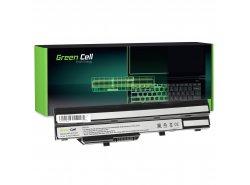Green Cell BTY-S11 BTY-S12 pentru MSI Wind U90 U100 U110 U120 U130 U135 U135DX U200 U250 U270