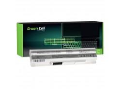 Green Cell Akku BTY-S12 BTY-S11 pentru MSI Wind U100 U250 U270 U135DX MOUSE LuvBook U100 PROLINE U100 Roverbook Neo U100