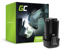 Green Cell ® Akku PCL12BLX für Werkzeug Porter-Cable PCL120CR PCL120DD PCL120ID PCL212IDC PCL120MTC Stanley FMC010 FMC040