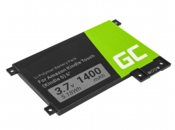 Green Cell ® Akku 170-1056-00 für Amazon Kindle Touch 2011 Ebook-Reader