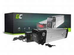 Green Cell ULTRA® pentru biciclete electronice 36V 23.8Ah Celule marca Li-Ion Baterie Silverfish cu încărcător