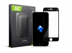GC Clarity Schutzglas für iPhone 7 8 - Schwarz