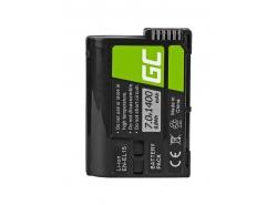 Green Cell ® Akku EN-EL15 fürNikon D850, D810, D800, D750, D7500, D7200, D7100, D610, D600 7.0V 1400mAh
