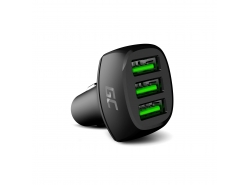 Green Cell GC PowerRide 54W 3xUSB 18W cu tehnologie de încărcare rapidă Ultra Charge