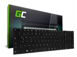 Green Cell ® Tastatur für Laptop Toshiba Satellite C850 C855 C870 L850 QWERTZ DE