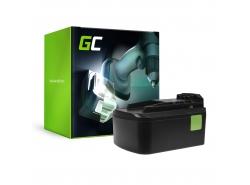 Green Cell ® Akku für Festool BPC15 14.4V 3Ah