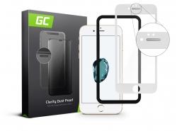Sticla protectoare GC Clarity pentru Apple iPhone 7 8 - Alb