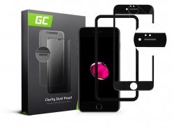 Protector de ecran GC Clarity pentru Apple iPhone 7 Plus, 8 Plus - negru