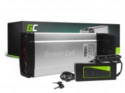 Baterie Rack pentru Green Cell spate 36V 11.6Ah 418Wh pentru bicicletă electrică E-Bike Pedelec
