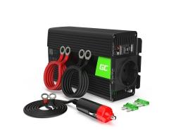 Green Cell ® 12V la 230V 500W / 1000W undă sinusoidală pură