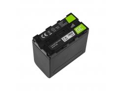 Acumulator Green Cell NP-F960 NP-F970 NP-F975 pentru Sony 7.4 V 7800 mAh