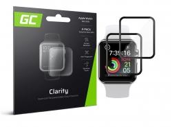 2 geamuri de protecție GC Clarity pentru Apple Watch 4/5 44mm