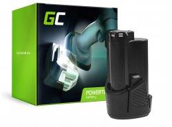Green Cell® Baterie (2Ah 12V) 5130200008 BSPL1213 B-1013L pentru Ryobi RCD12011L RMT12011L RRS12011L BB-1600 BHT-2600