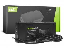 Green Cell ® 54,6V 2A pentru baterie Li-Ion 48V e-bike cu mufă rotundă 5,5 * 2,1 mm