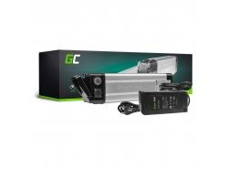 Green Cell ® pentru biciclete electronice 24V 8.8Ah Baterie Li-Ion Silverfish cu încărcător