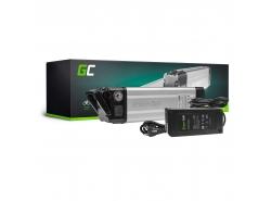 Green Cell ® 36V 8.8Ah bicicletă electrică Li-Ion baterie Silverfish cu încărcător
