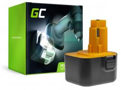 Green Cell ® Akkuwerkzeug pentru DeWalt DE9074 2802K 2812K DC740KA