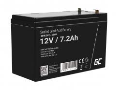 Green Cell® AGM 12V 7.2Ah VRLA acumulator plum acid baterie fara mentenanta jucării sisteme de alarma