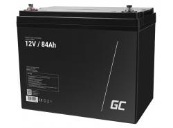 Green Cell ® Gel Batterie AGM VRLA 12V 84Ah