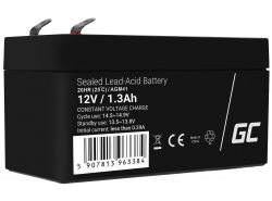 Green Cell® AGM 12V 1.3Ah VRLA acumulator plum acid baterie fara mentenanta jucării sisteme de alarma