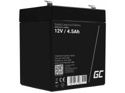 Green Cell® AGM 12V 4.5Ah VRLA acumulator plum acid baterie fara mentenanta jucării sisteme de alarma
