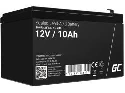 Green Cell® AGM 12V 10Ah VRLA acumulator plum acid baterie fara mentenanta UPS sisteme de alimentare