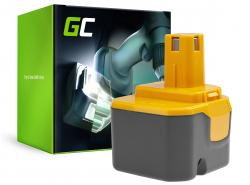 Green Cell ® Akku B1222H B1230H BPT1025 für Werkzeug Ryobi BD120 BD121 BD122 BID1211 BID1260 SA1202