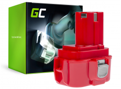 Green Cell ® Akku 9120 9122 9134 9135 PA09 für Werkzeug Makita 6207D 6222D 6261D 6503D 6909D 6991D