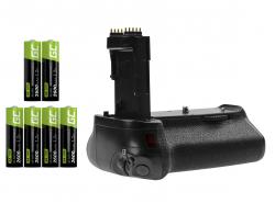 Grip Green Cell BG-E14H pentru camera Canon EOS 70D 80D