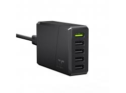 Green Cell GC ChargeSource 5 5xUSB 52W cu încărcare rapidă Ultra Charge și Smart Charge