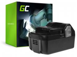 Green Cell ® (4Ah 18V) BSL1815 BSL1820 BSL1830 BSL1840 pentru Hitachi C18DSL C18DSL2 C18DSLP4 CG18DSDL CJ18DSL G18DSL